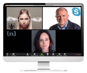 Videobellen scheiden